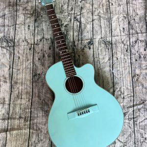 Guitar Acoustic  E90M ( Xanh )
